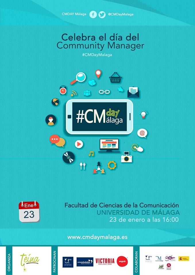 Cartel CMDayMálaga