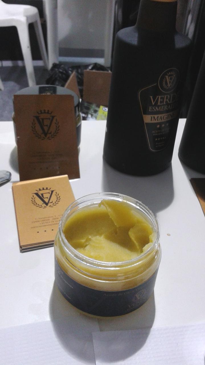 Crema de AOVE de Verde Esmeralda