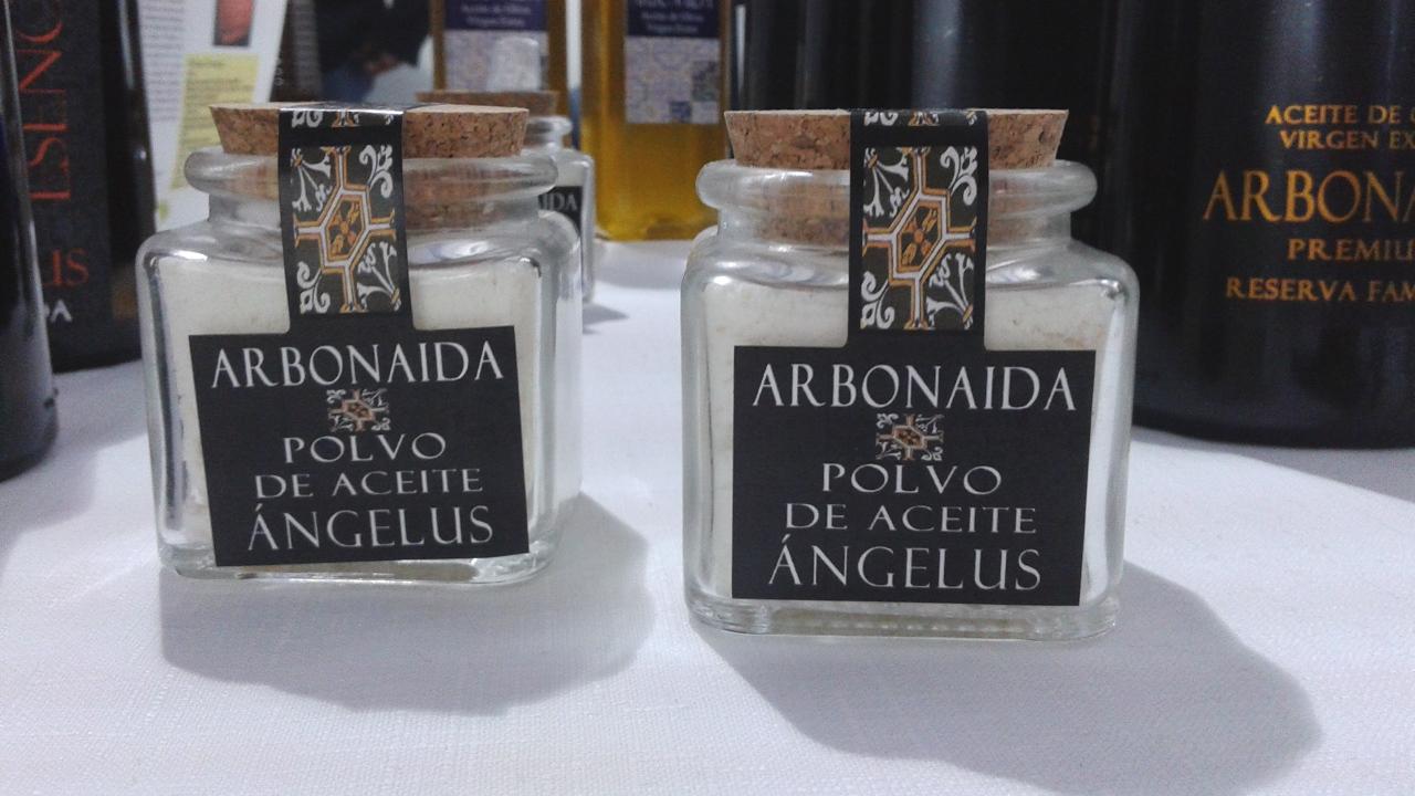 Polvo de aceite Ángelus