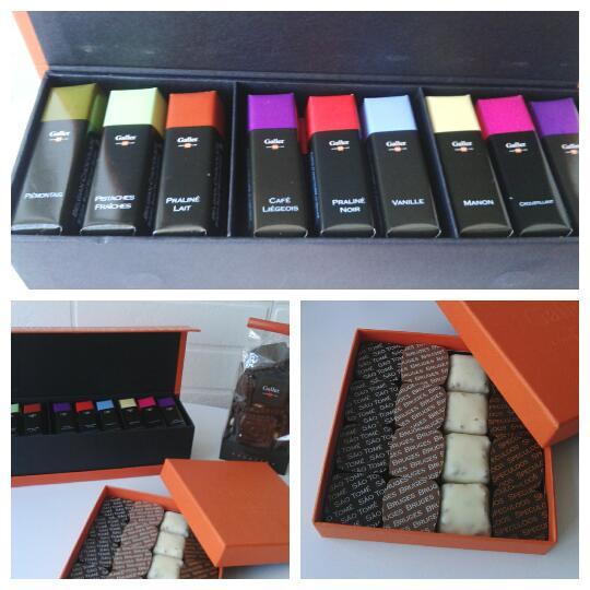 chocolates galler
